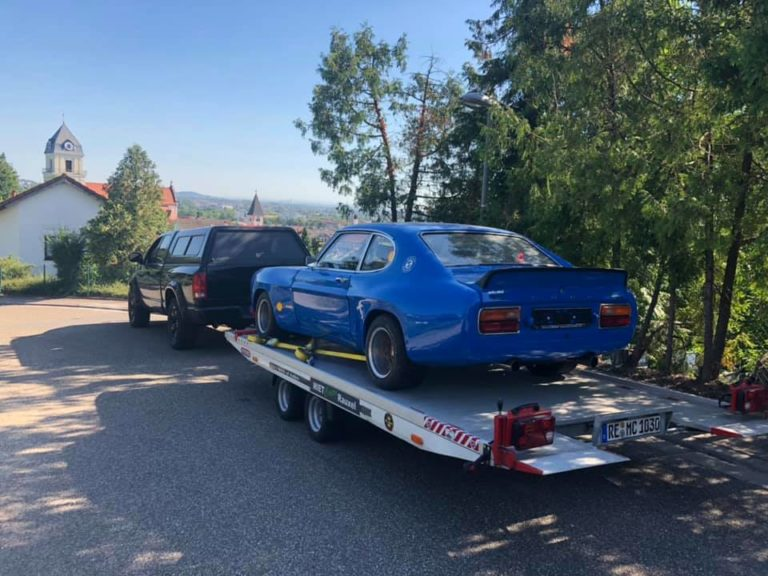 seltener Ford Capri RS 2600 mit Strassenzulassung  zur Reparatur